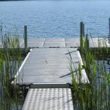 Badbrygga i Sjön Hindsen 2 Småland