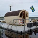 Bastuflotte med Runda bastun Bygglov TV4