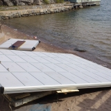 Montering badflotte